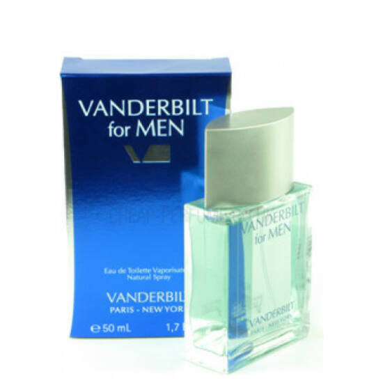 vanderbilt for men férfi parfüm edt 50ml