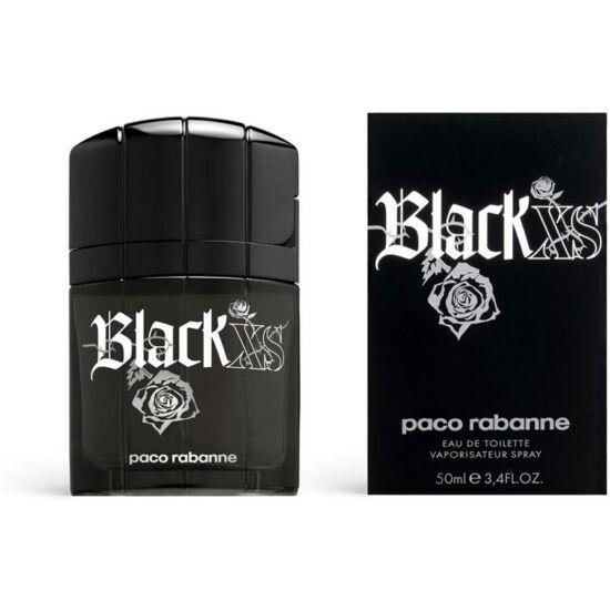 Paco Rabanne Black XS for Him férfi parfüm régi kiadás edt 50ml teszter