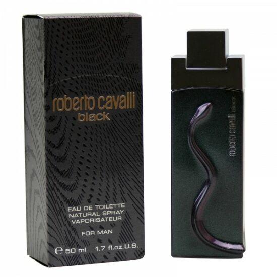 Roberto Cavalli Black Uomo férfi parfüm edt 50ml