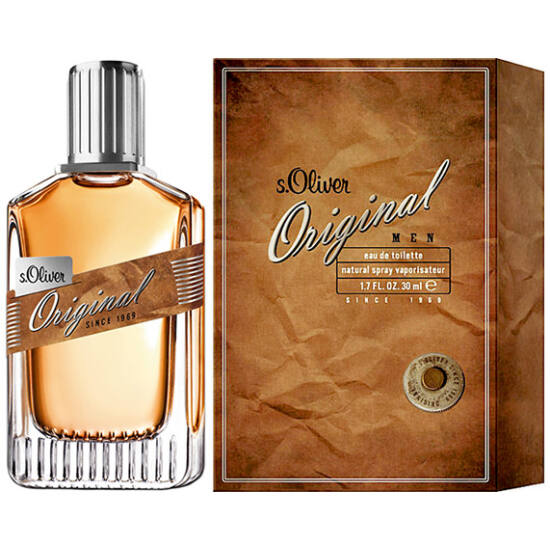 S.Oliver Original for men férfi parfüm edt 30ml