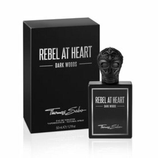 Thomas Sabo Rebel at Heart Dark Woods férfi parfüm edt 50ml