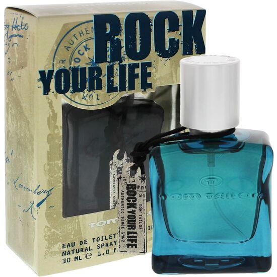 Tom tailor rock your life for him férfi parfüm edt 50ml