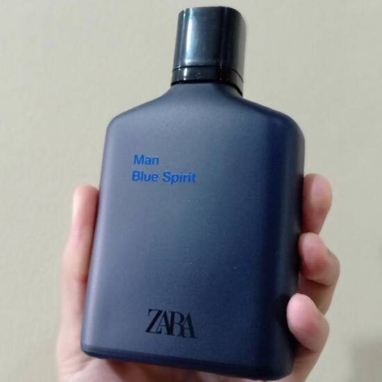 zara man blue spirit 100ml edt  férfi parfüm