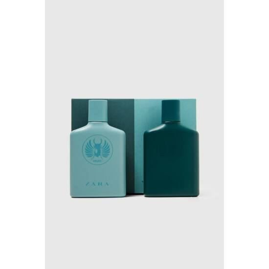 Zara Crude edt 100ml  + Dark Crude edt 100ml szett csomag férfi parfüm