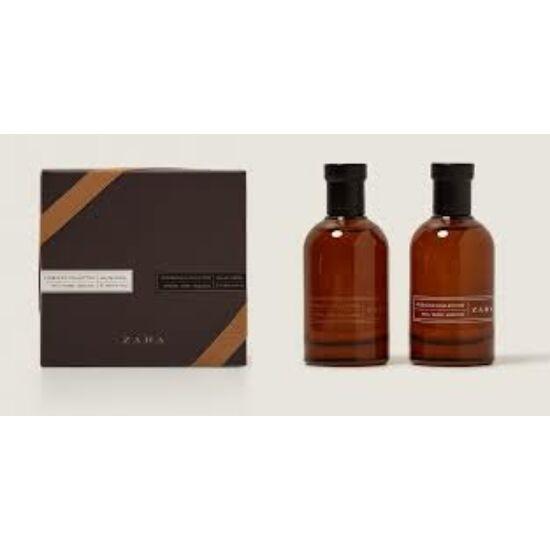 zara tobacco Collection Intense  100ml edt + 100ml edt Rich férfi parfüm
