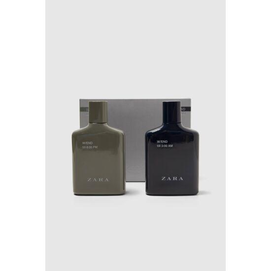 ZARA W/END TILL 8.00 PM W/END TILL 3:00 AM 100 ML+100 ML férfi parfüm
